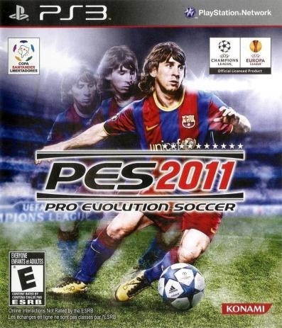 game - ps3 - pro evolution soccer - 2011 - playstation