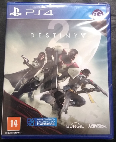 game ps4 destiny 2 - original e lacrado.