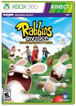 game rabbids invasion: the interactive tv show - xbox 360