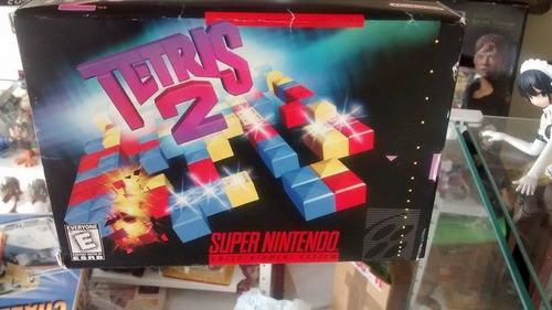 game super nintendo tetris 2 + caixa