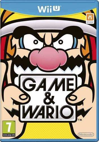 game & wario juego original sellado wii u