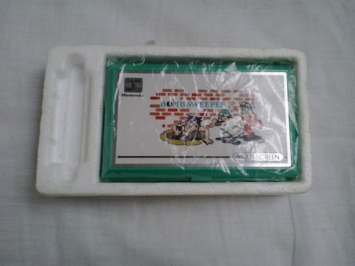 game watch bomb sweeper original pocket size nintendo