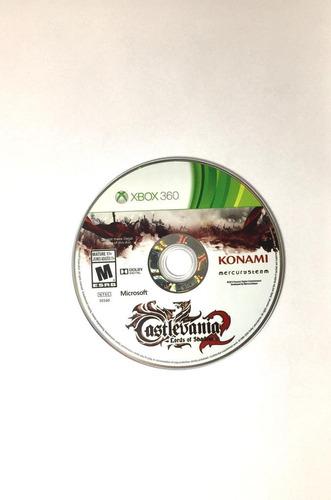 game xbox 360 castlevania 2 - usado excelente