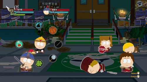 game xbox 360 south park the sitck of truth - original