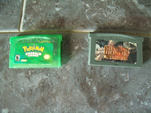 gameboy advance medal of honor pokémon emerald ruby