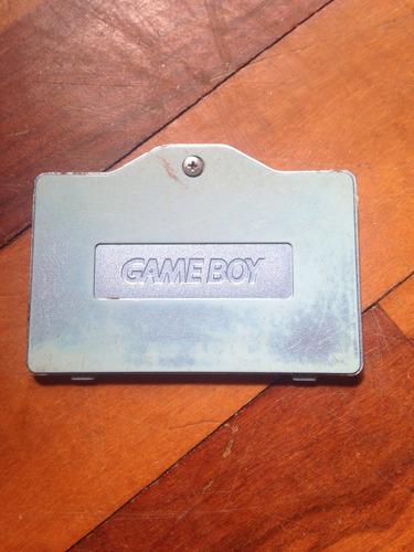 gameboy advance sp tapa de la batería