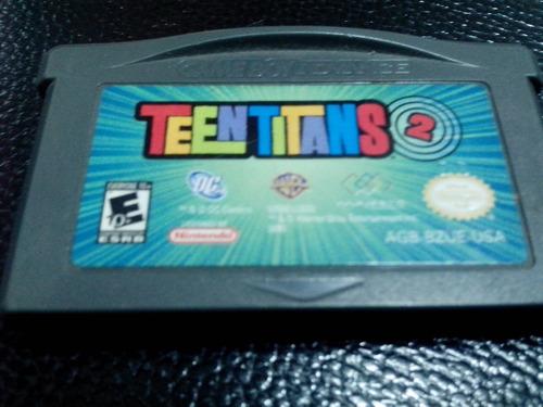 gameboy advance - teentitans 2