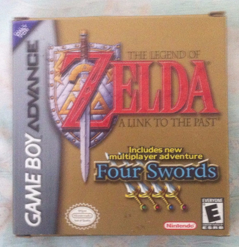 gameboy advance: the legend of zelda: a link to the past
