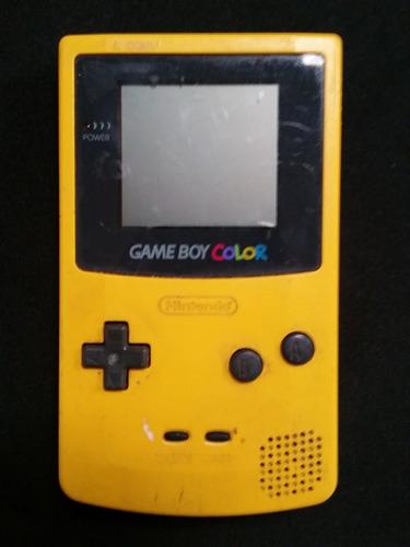 gameboy color amarillo a