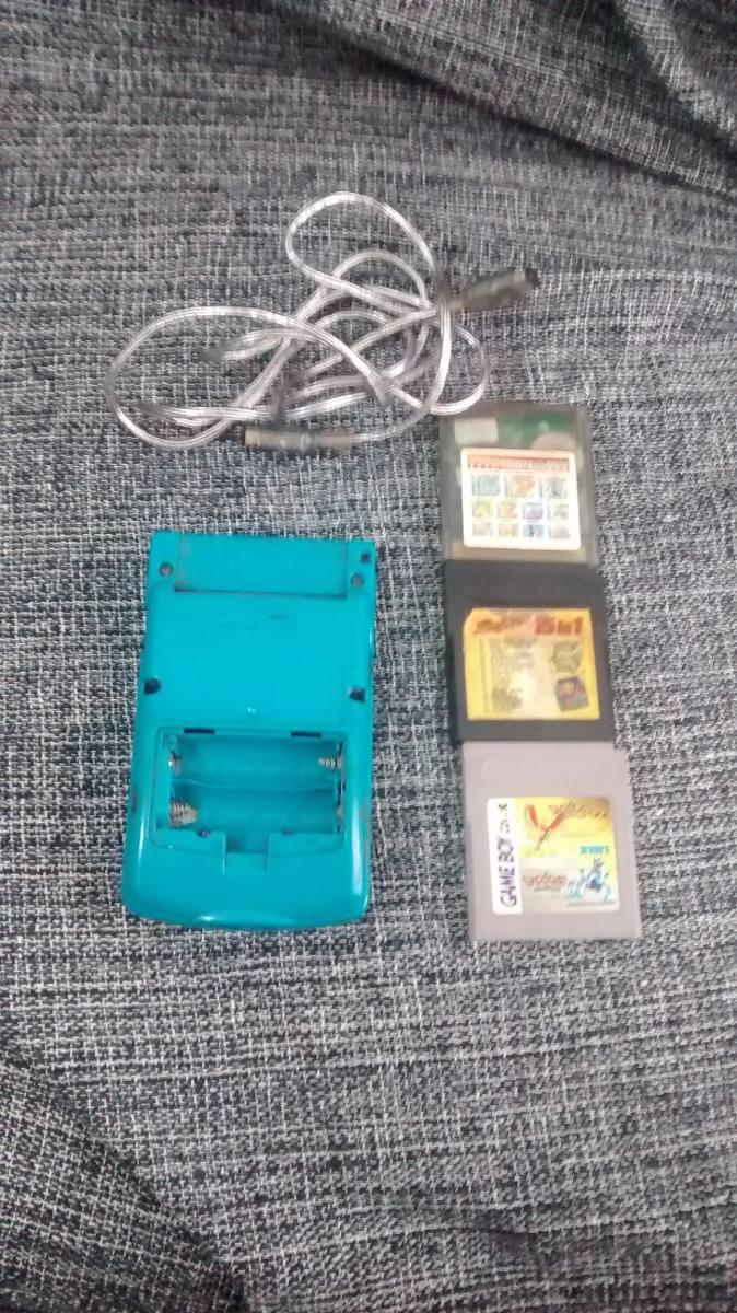Game boy color quanto custa - Gameboy Color Cabo Link 3 Fitas Sem Tampa Traseira
