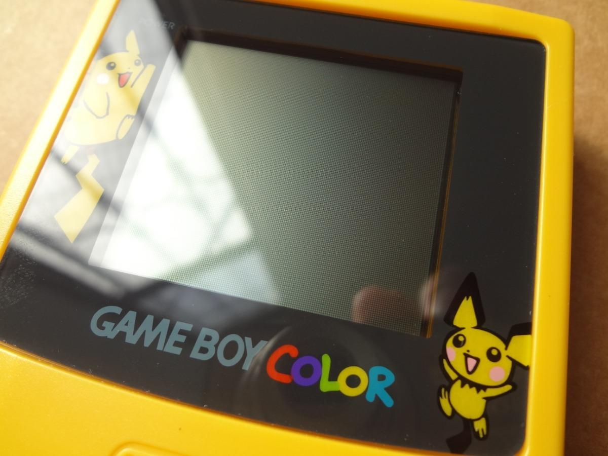 Gameboy Color Edición Pokémon Con Worm Light 178000 En Mercado
