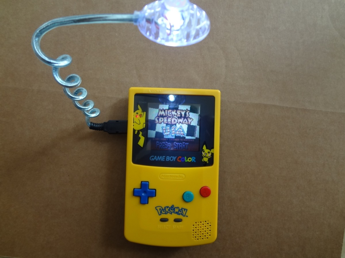 Gameboy Color Restaurado Con Worm Light 1 600 00