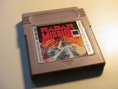 gameboy juego radar mission juego para gameboy