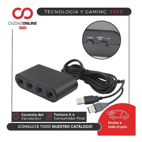 gamecube adaptador para nintendo