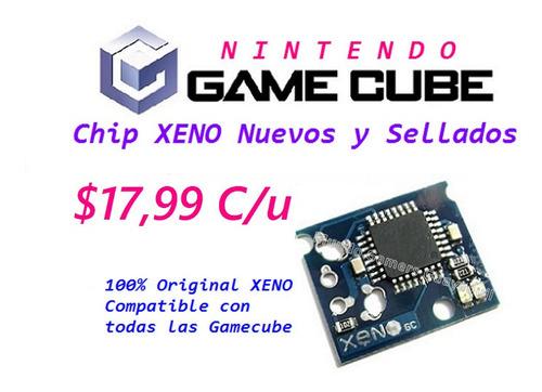 gamecube chip xeno original sellado game cube