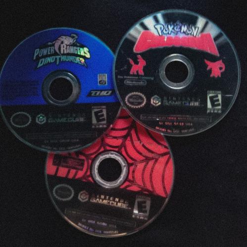 gamecube con juegos