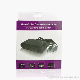 Gamecube Controllers Adapter Usb Para Switch, Wiiu, Pc