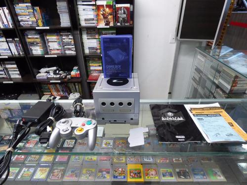 gamecube + gameboy player + manuales zonagamz japon