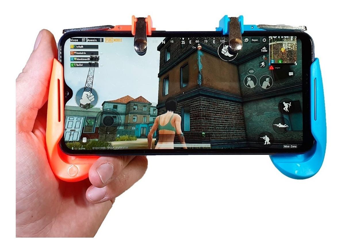 Gamepad Ak16 Pubg Free Fire L1 L2 Juegos Móviles Android Ios