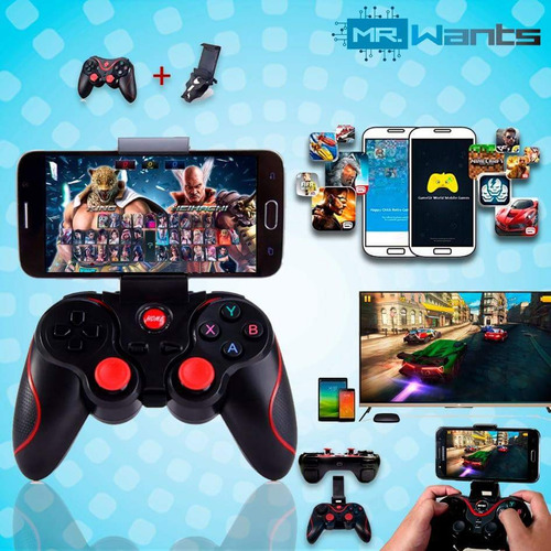 gamepad joystick bluetooth android ios multifuncional