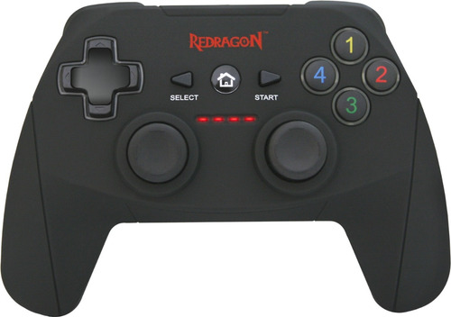 gamepad joystick redragon g808 pc gamer y ps3 inalambrico