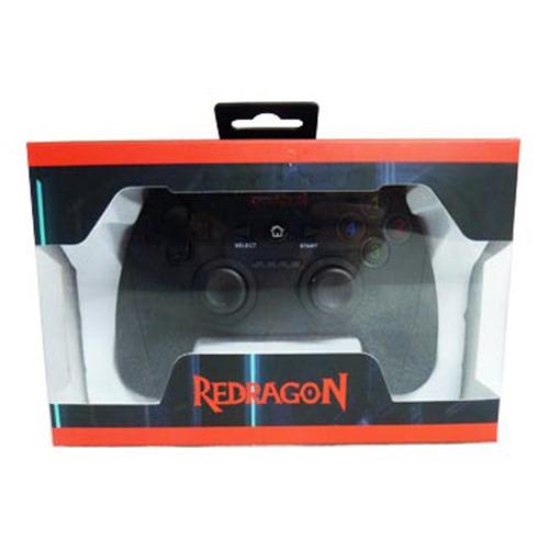 gamepad joystick redragon harrow g808 usb pc ps3 wireless