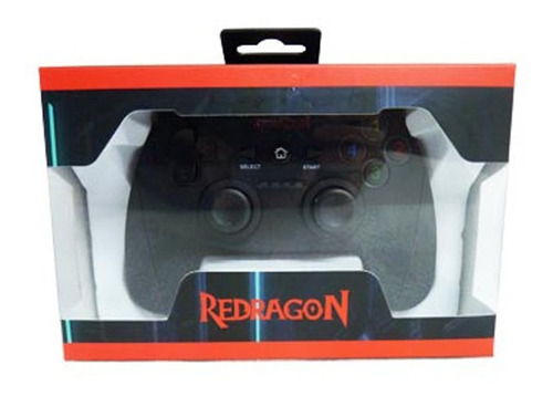 gamepad joystick redragon harrow g808 usb pc ps3 wireless