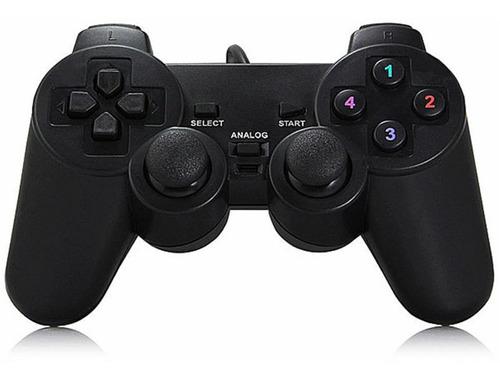 gamepad joystick tipo playstation 2 usb dual shock usb