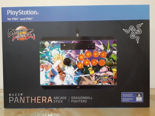 gamepad razer panthera arcade stick ps4 dragon ball fighter