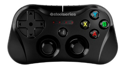gamepad steelseries stratus wireless gaming controller negro