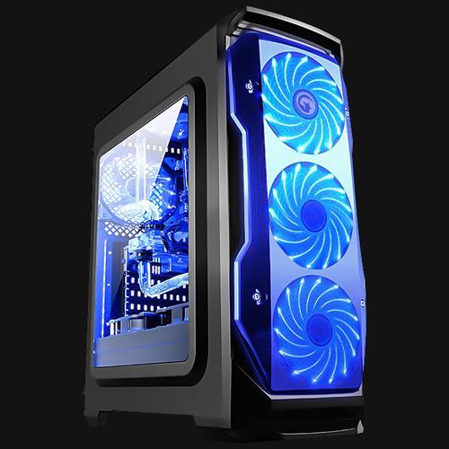 gamer pc cpu core i7 8700k octava+ssd+16gb+nvidia 1070ti 8gb