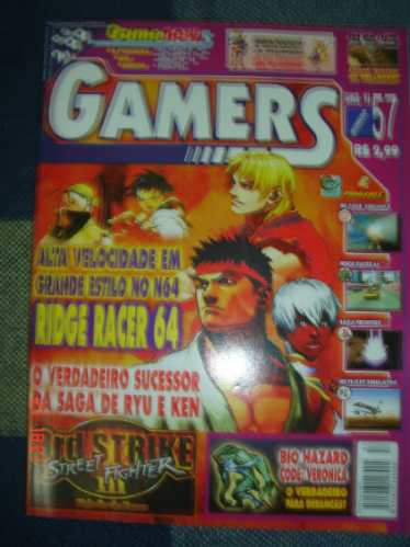 gamers #57 street fighter iii 3 3rd strike