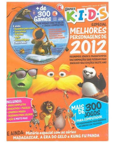 games kids  8 revistas + dvd dezenas jogos e passatempos