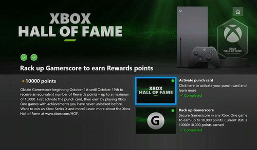 gamescore xbox one the hall of fame 10k trofeu platina