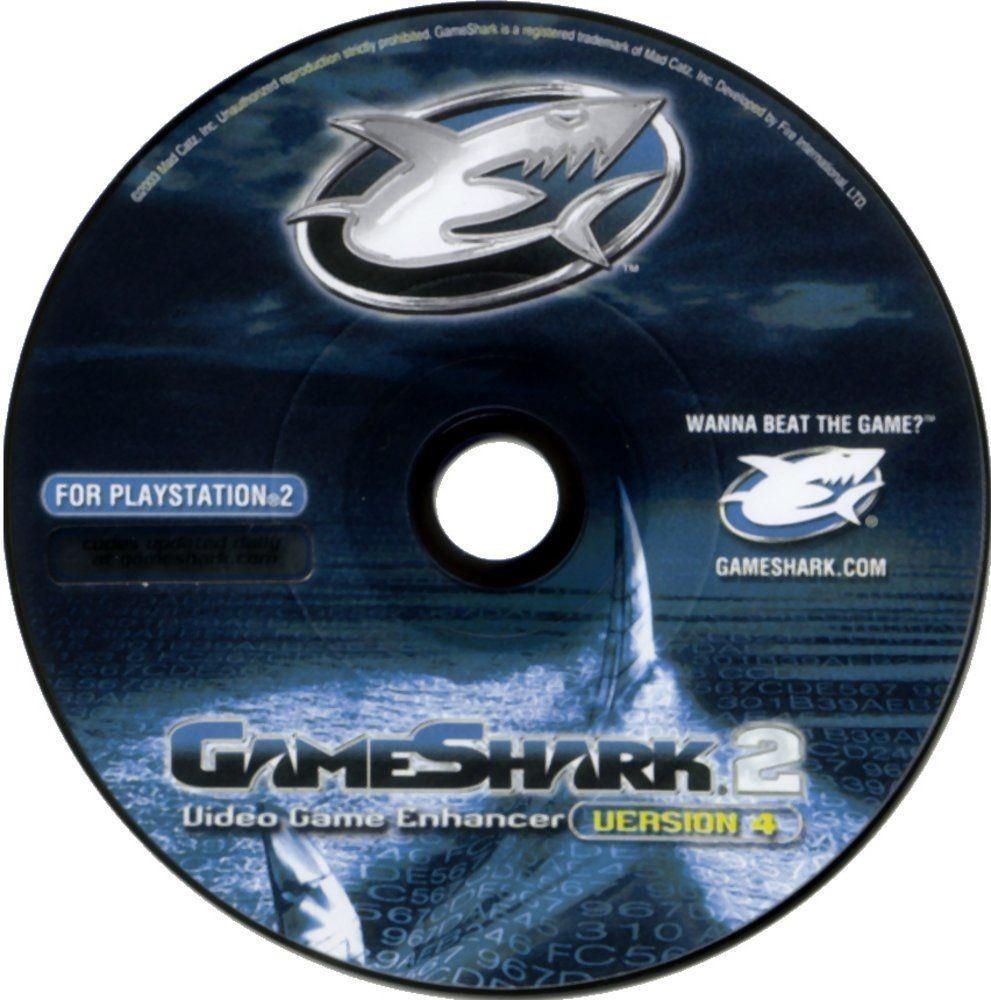 Gameshark 2 V4 Para Playstation 2 [iso Dvd]