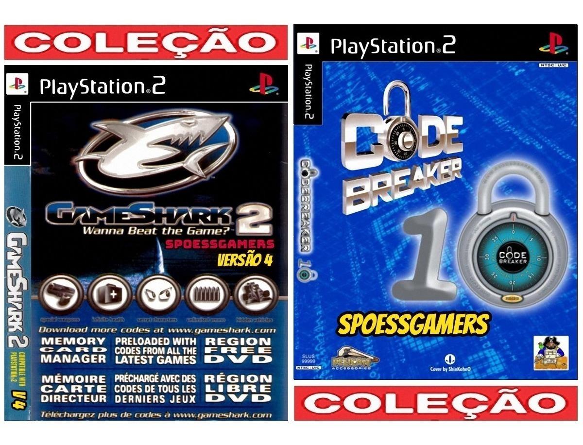 Gameshark 2 V4 Ps2 + Codebreaker V10 ( Codigo Cheats ) Patch