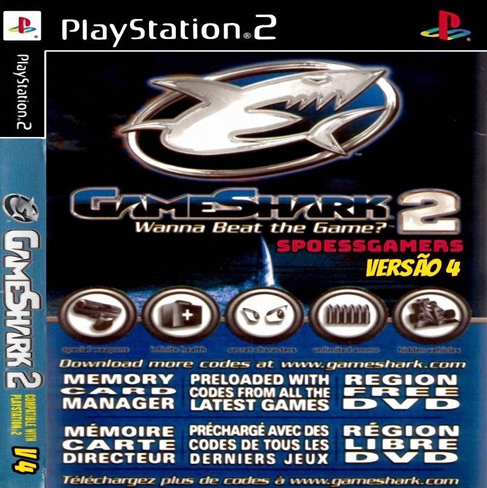 Gameshark 2 V4 Ps2 ( Codigo E Cheats ) Patch