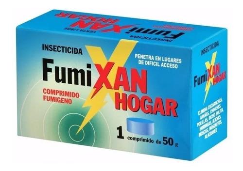 gamexane, fumixane, pastillas fumígenas, cucarachas plagas