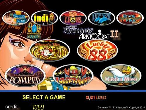 gaminator aristocrat 2 19 juegos en 1 original slotgame