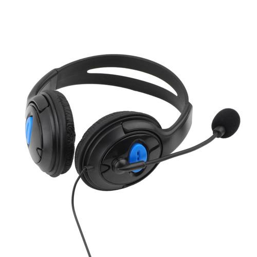 gaming headphones ps4 micrófono control de voz