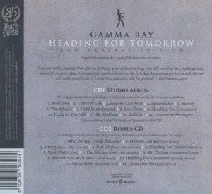 gamma ray- heading for tomorrow  doppel-cd (anniversary