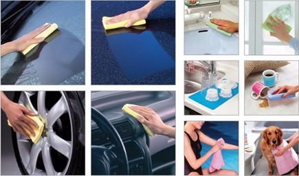 gamuzas originales aion plas chamois lavar y secar automovil
