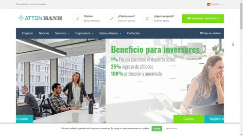 gana el 1% de tu capital con interés compuesto en attonbank