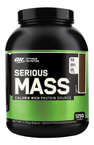ganador de peso serious mass 6lbs optimun nutrition (oferta)