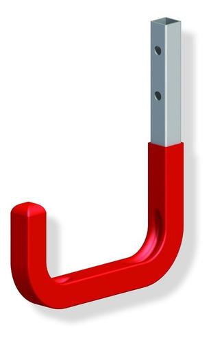 gancho alfer acero galvanizado engom rojo 115x140mm-30kg