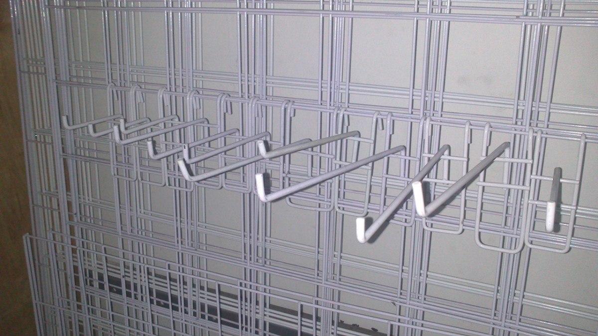 Gancho blister para reja o malla panel ranurado exhibipanel en mercado libre - Ganchos para estanterias ...