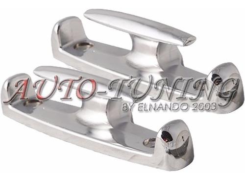 gancho cornamuza cromada soporte metal pick up par
