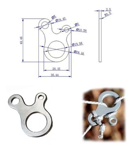 gancho de ajuste rapido para cuerda set de 5 piezas