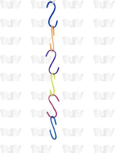 gancho de alambre forrado en forma de s