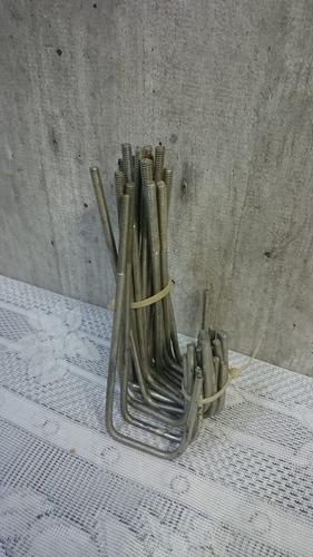 gancho de chapa para perfiles galvanizado